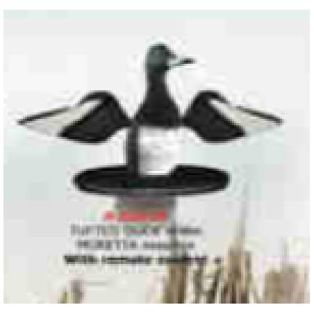 Flydende Troldand m. roterende vinger