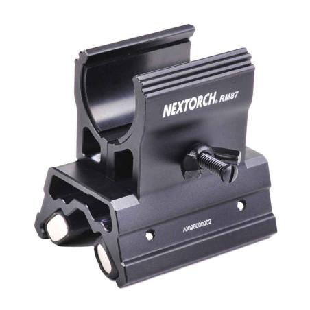 Magnetisk Lygtemontage til brug på Riffel eller Jagtgevær