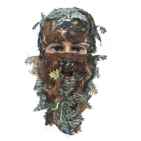 Camouflage maske i 3D